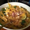 Chicken lime soup.