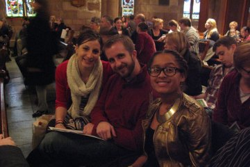 Laura, Chris and Lexi