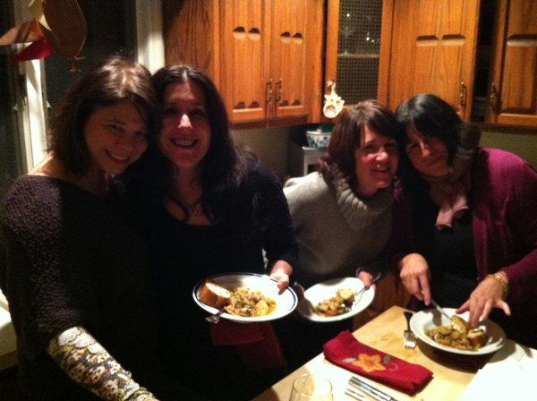 Kelli, Mel, Maris and Boo.