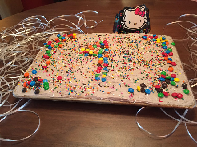 Sheet Pan Birthday Cake