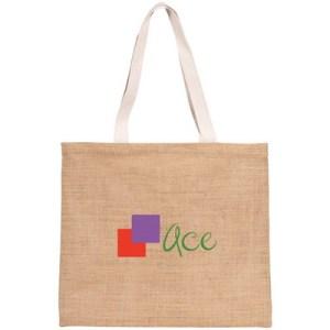 customised jute shopping bags