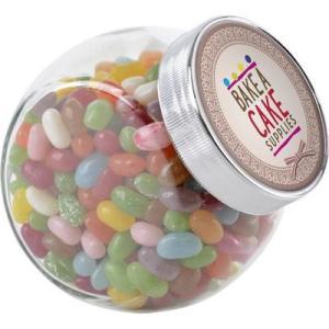 Promotional Sweets - Medium Side Glass Jar