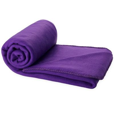 Branded with Logo Huggy Blanket and Pouch
