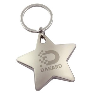 Promotional Product Novelty Metal Key Ring