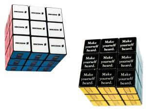The Sourcing Team: Ericcson rubix cube