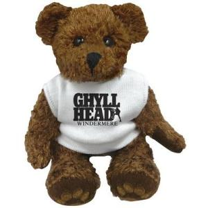 """5"""" Charlie Bear with White T Shirt"""