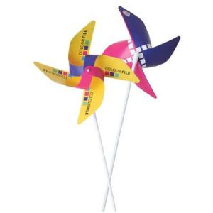 Promo Windmills Branded with Custom Logo