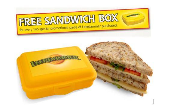 Leerdammer Sandwich Box – Instore Campaign