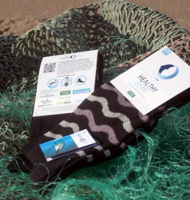 Sea Socks from Fishing Nets