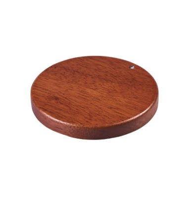 Wooden Wireless Charging Pad Branded with Logo