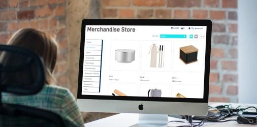 Online merchandise store