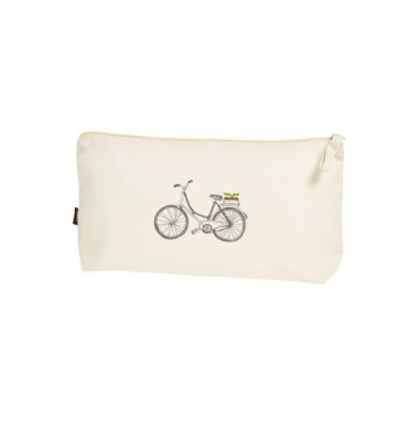 Zipper bag Organic Cotton