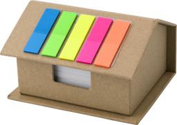 House shaped card memo holder