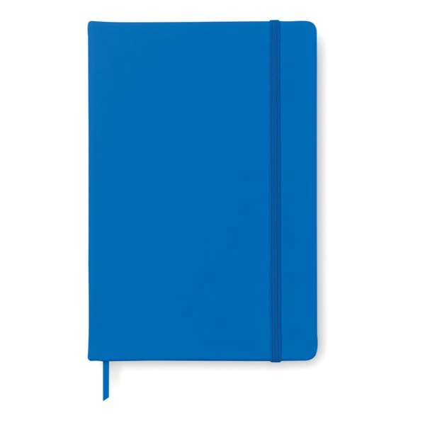 A5 notebook with soft PU cover