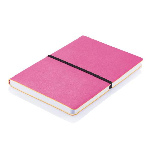Branded Notepads Custom Printed - Deluxe Softcover A5