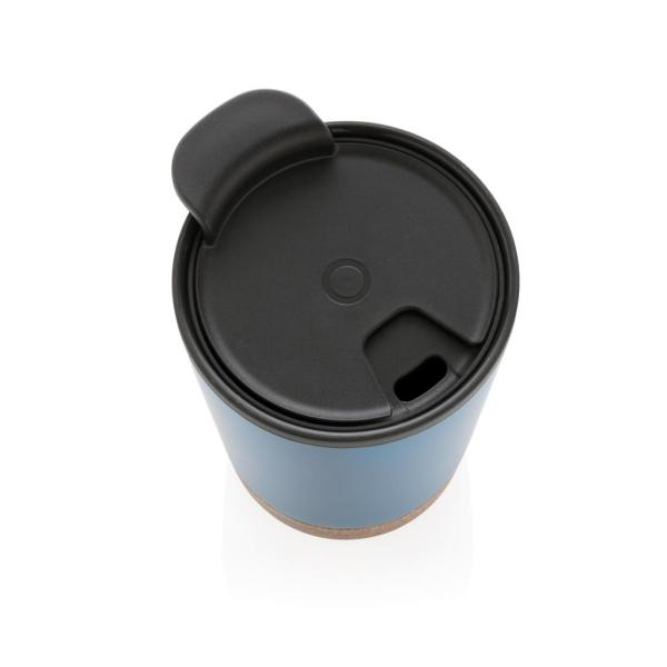 Promotional Cork Coffee Tumbler Engraved with Logo