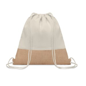 Promotional Item - Sustainable Twill Cotton Drawstring Bag