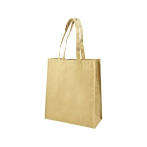 Branded Papyrus Paper Woven Tote Bags