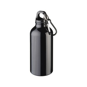 Promotional Metal Sport Bottle with Carabiner
