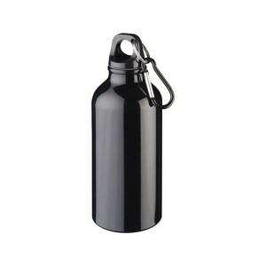 Promotional Metal Sport Bottle with Carabiner