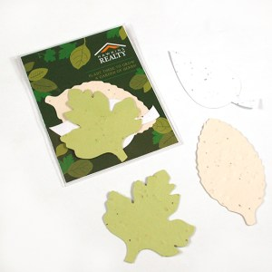 Single-Sided Herb Seed Paper Shape Pack