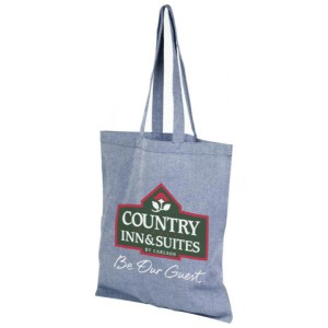 Branded Recycled Cotton Tote