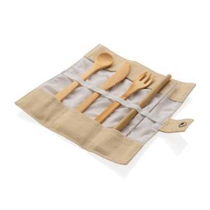Reusable Bamboo Travel Cutlery