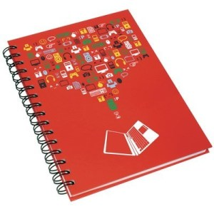 Wiro Bound Notebook from Recycled