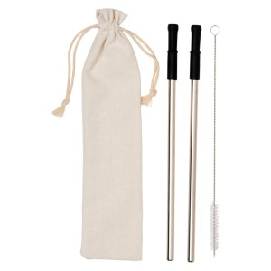 Promotional Reusable Stainless Straw Set