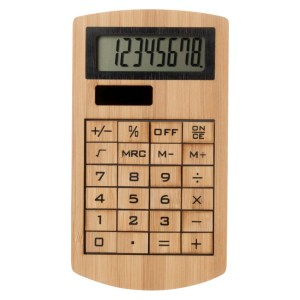 Promotional Wooden Calculator