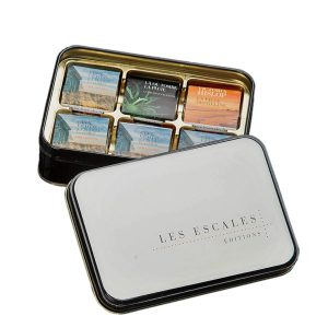 Promotional Tin with 24 Chocolate Squares