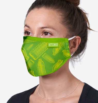 Branded RPET & Cotton Face Mask