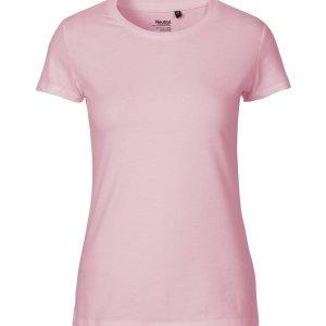 Ladies Fit T-shirt Organic Fair Trade Certified Cotton