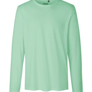 Mens Long Sleeve T-Shirt from Certified Organic Fair Trade Cotton