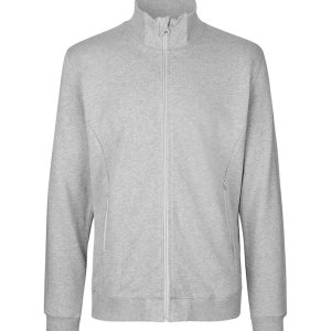 Unisex High Neck Jacket from Certified Organic Fair Trade Cotton