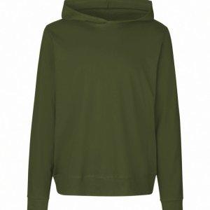 Unisex Hooded Single Jersey Sweatshirt Fair Trade Certified Cotton