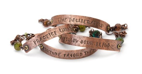 Affirmational Half Cuff Bracelets