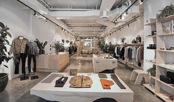 Inside Baldwin's New York store