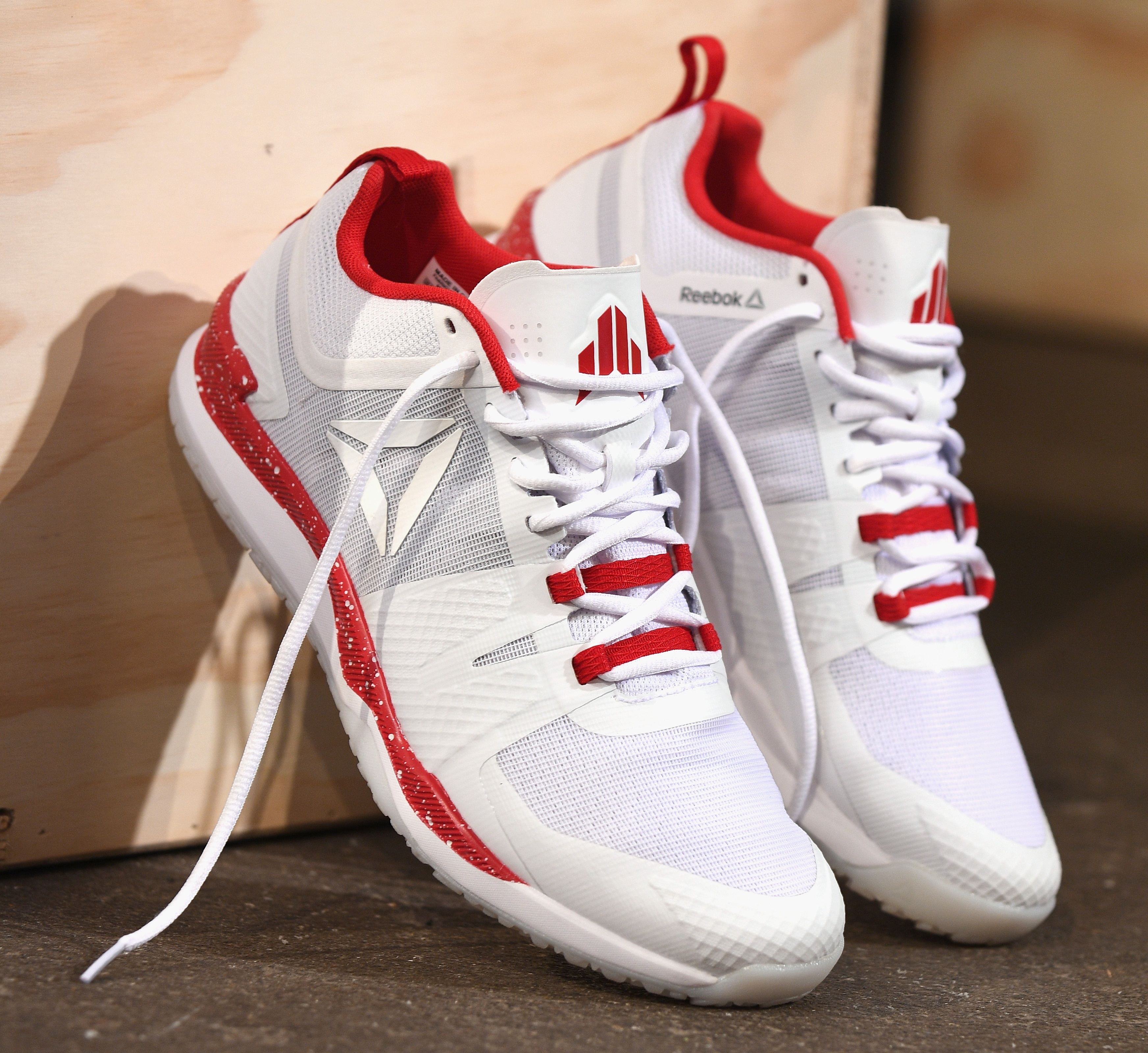 NEW YORK, NY - JUNE 23: A view of The Reebok JJ I during the Launch of J.J. Watt's New Signature Sneaker, The Reebok JJ I at ArtBeam on June 23, 2016 in New York City. (Photo by Bryan Bedder/Getty Images for Reebok)