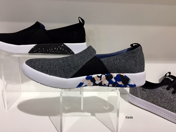 more photos 32388 7524b The collection, which taps into popular colors in the activewear market  like blush, black and gray, includes lace-up sneakers with mesh inserts, ...
