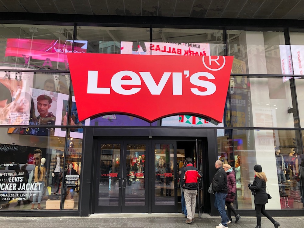 Levi's Opens Largest-Ever Flagship in the Heart of New York City – Sourcing  Journal