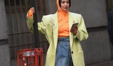 Color Awakens Winter Fashion Week Street Style