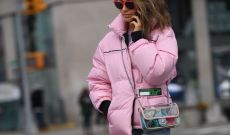 New Yorkers Brave NYFW In Puffer Coats and Denim