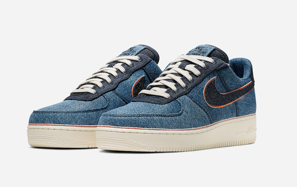 3×1 and Nike Team for a Selvedge Sneaker Collection