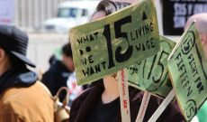 $15 Federal Minimum Wage Bill Clears House Hurdle