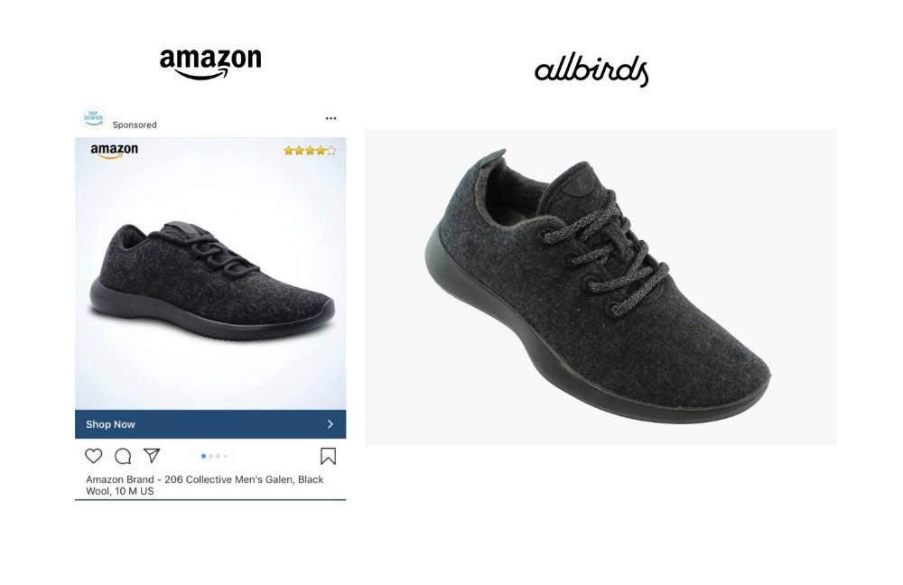 Amazon Copies AllBirds Wool Runner, and