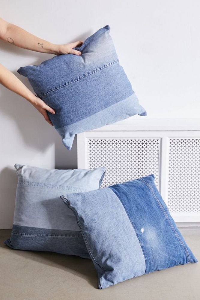 From aprons to throw pillows, denim instantly adds flair to any ordinary household item and makes the perfect gift for a denim lover.