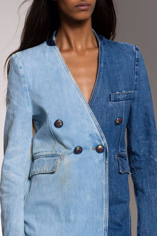 Streetwear may be simmering down to make room for more polished looks, but the shift in style in 2020 will not diminish denim's glow on the runway.