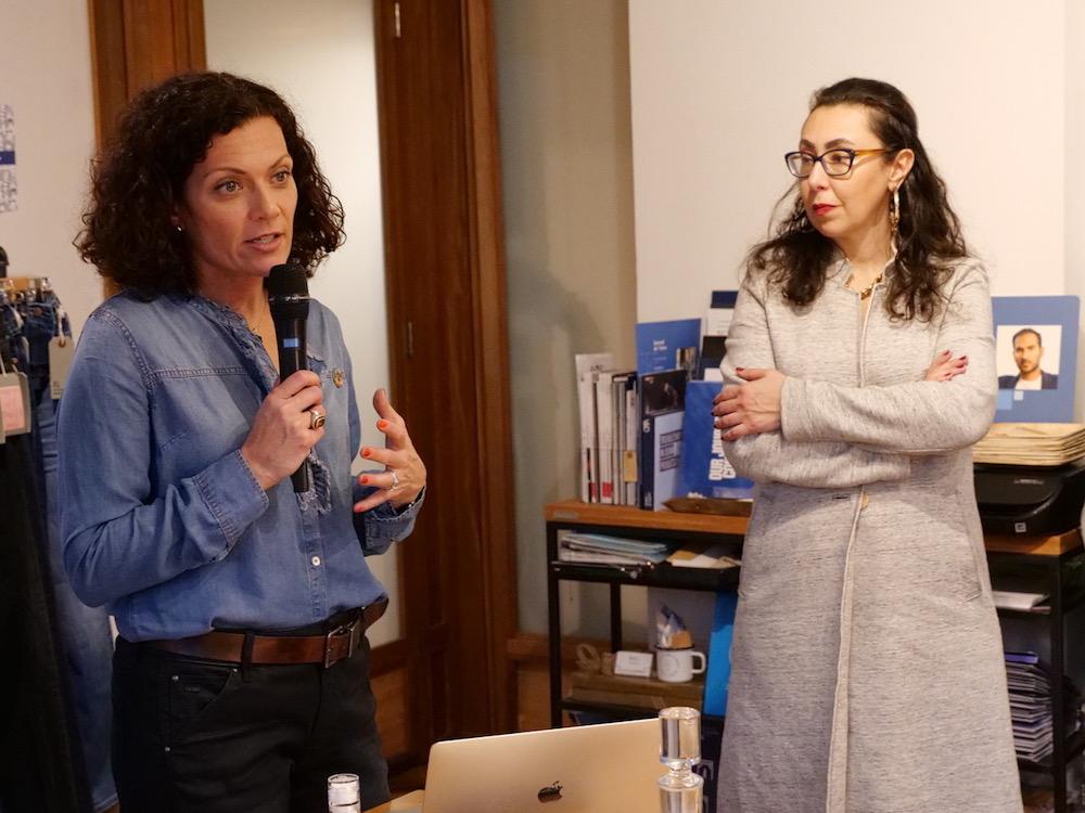 Speakers talk at Milliners Soho MasterClass Series