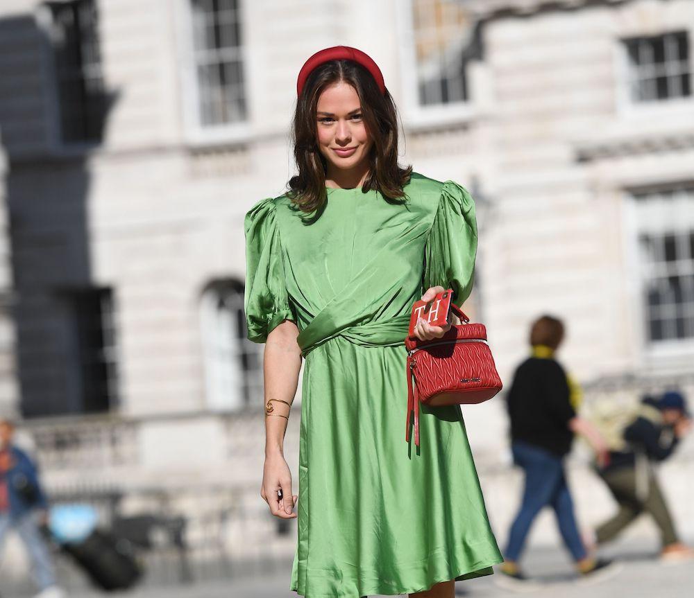 Millennial women dress in style tribes.